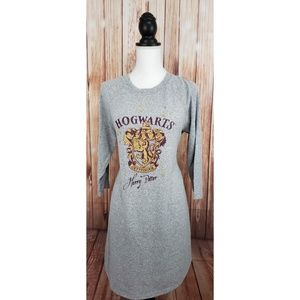 Harry Potter Hogwarts Gryffindor Pajama Gray Small